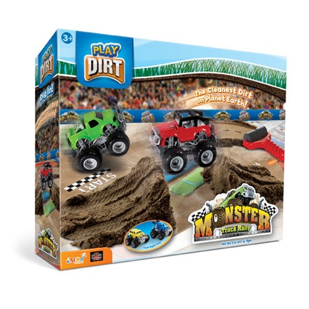 Play Dirt Monster Truck Rally Set - The Milk Moustache