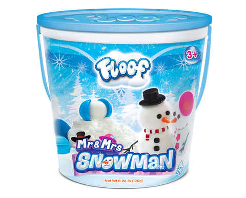Floof Mr. & Mrs. Snowman Set - The Milk Moustache