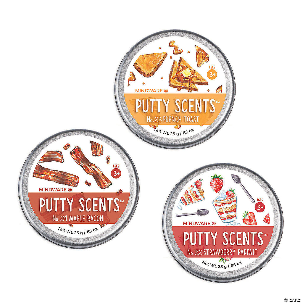 Putty Scents Breakfast Cafe Set of 3