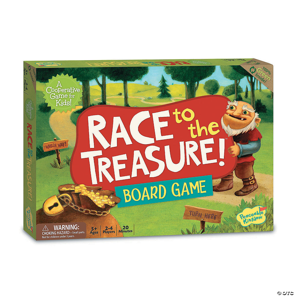 Race to the Treasure! Board Game - The Milk Moustache