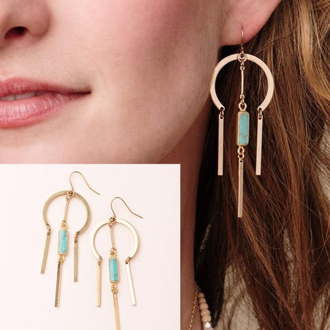 Scout Curated Wears Dream Catcher Stone Earring - Assorted Styles - The Milk Moustache