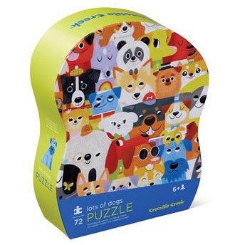 72-Piece Lots of Dogs Puzzle