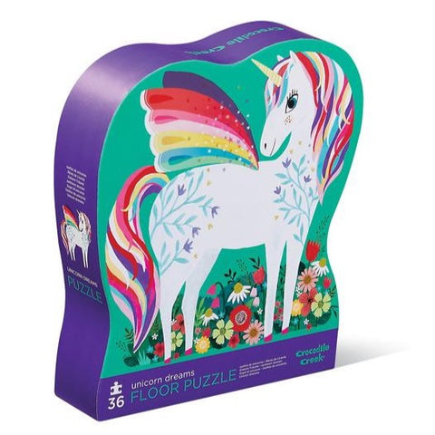 36-Piece Unicorn Garden Puzzle