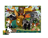 36-Piece Jungle Friends Puzzle - The Milk Moustache