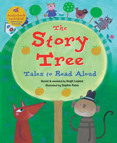The Story Tree Paperback Book with Audio - The Milk Moustache