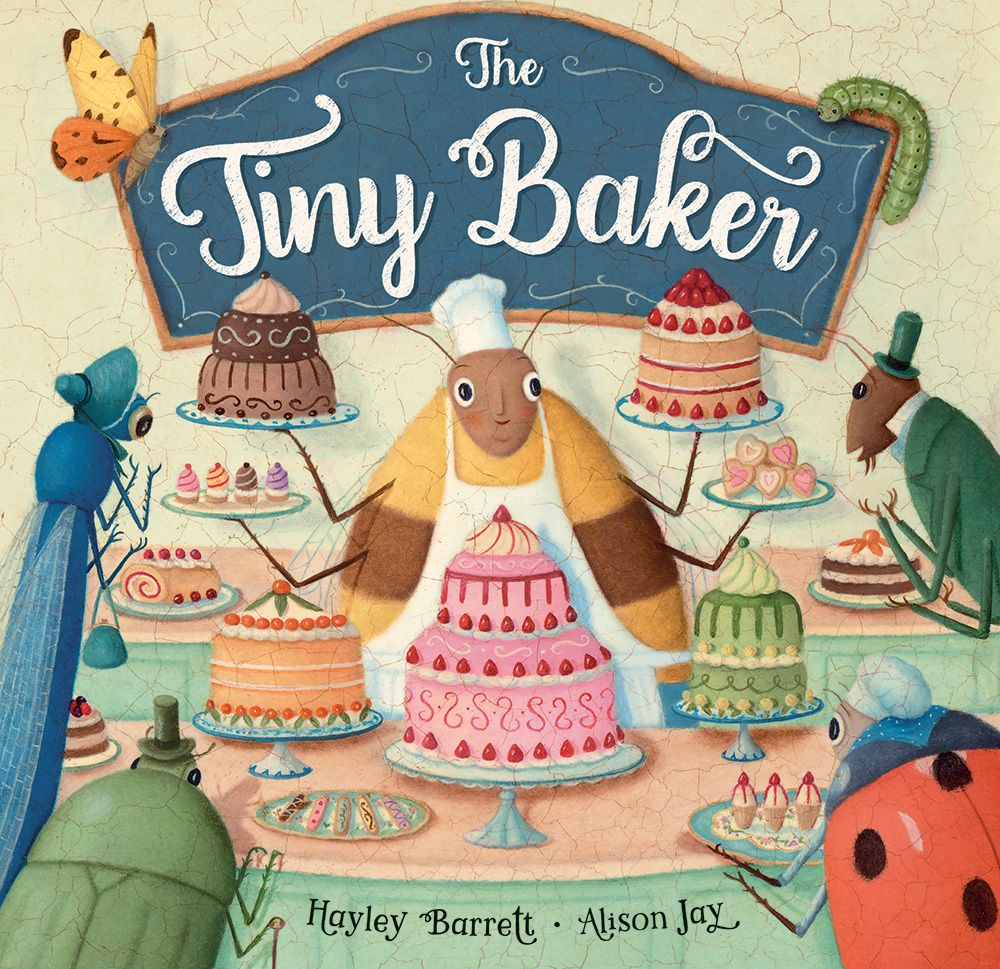 The Tiny Baker Hardcover Book - The Milk Moustache