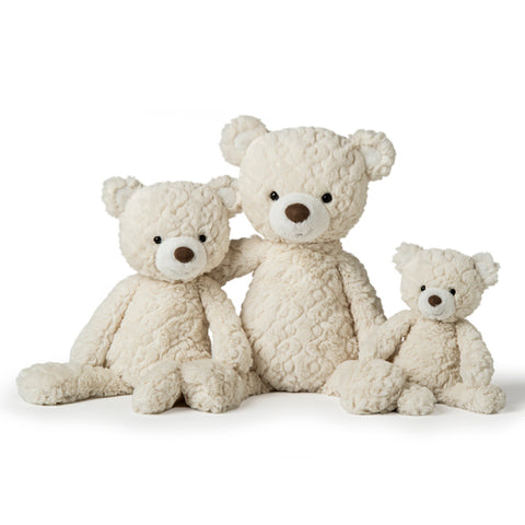 Mary Meyer Cream Bear - 3 Sizes - The Milk Moustache