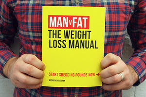MAN v FAT The Weight Loss Manual - incl P&P