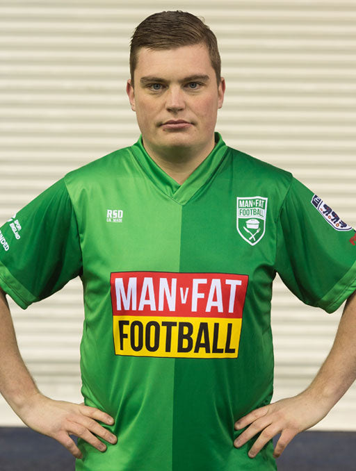 MAN v FAT Football Official Strip - Green