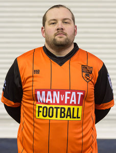 MAN v FAT Football official shirt orange
