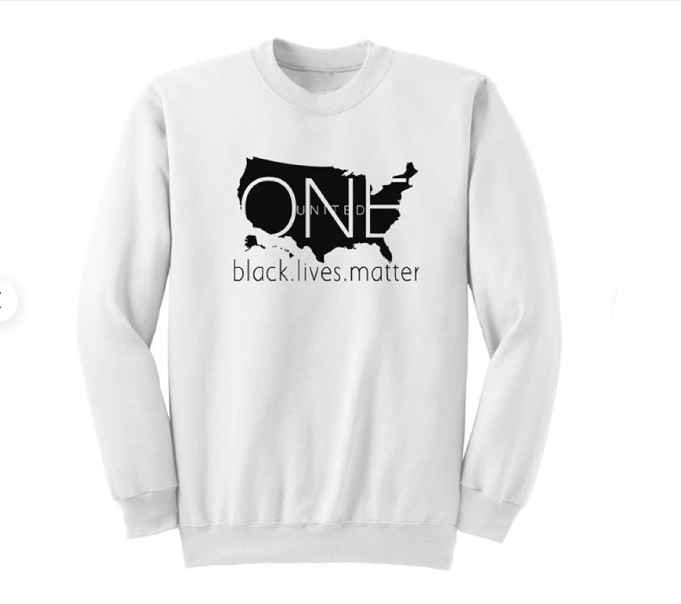 WOMENS BLACK LIVES MATTER SWEATSHIRT