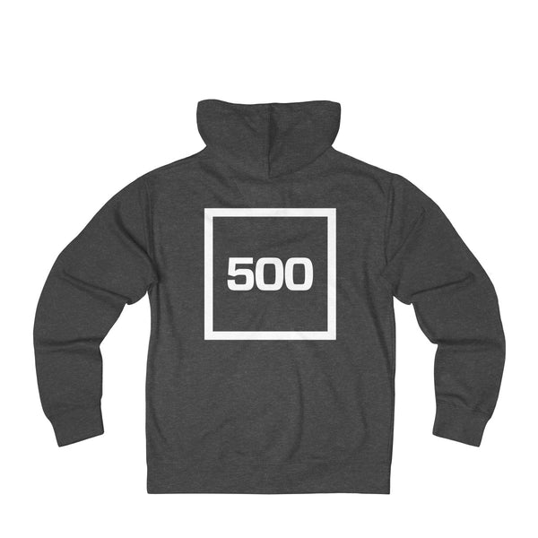 500 Adult Unisex French Terry Zip Hoodie