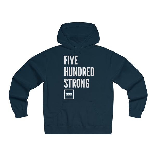 #500Strong Lightweight Pullover Hooded Sweatshirt