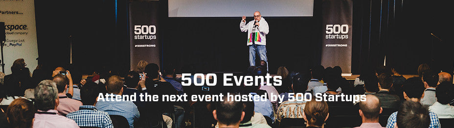 500 Startups Events Page