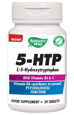 5-HTP (with Vitamin B6 and Vitamin C)