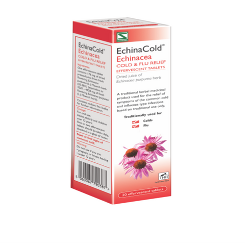 EchinaCold : Echinacea Extract Effervescent Tablets