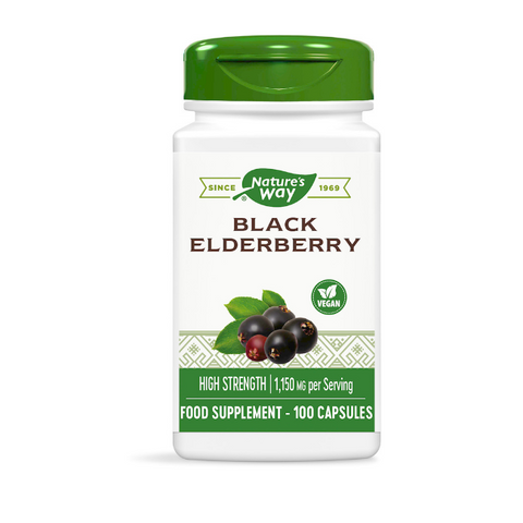 Black Elderberry High Strength – 100 capsules
