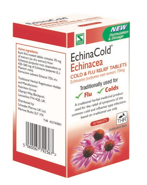 EchinaCold Echinacea Cold & Flu Relief Tablets