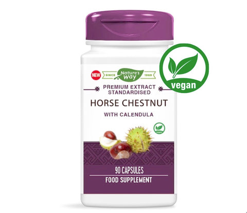 Nature's Way Horse Chestnut with Calendula  | 90 Capsules