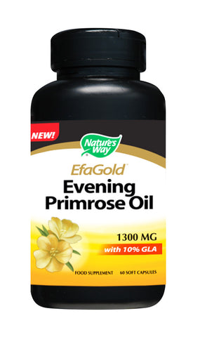 EfaGold Evening Primrose Oil 1,300 mg