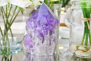 Amethyst Crystal and Its Benefits during Meditation.