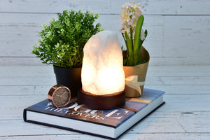 Clear Quartz Lamp.