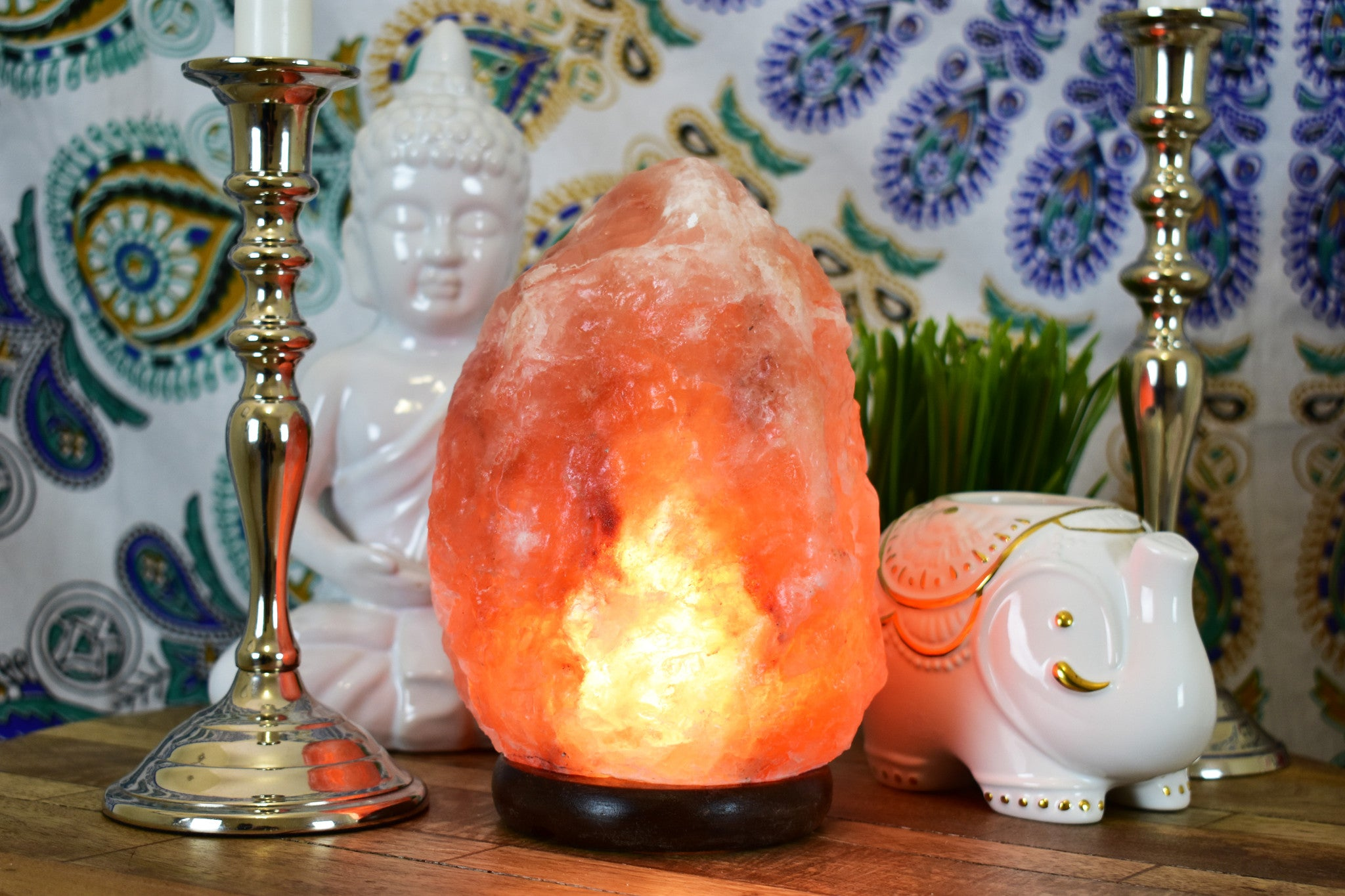 Salt Lamps Black Friday : Himalayan Salt Lamp ( 2- 3 KG ~ 7 Inch ) - Yellow Tree Company
