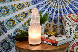 Moroccan Selenite Lamp