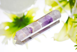 Amethyst Healing Wand Faceted