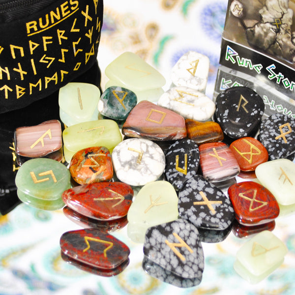 Assorted Rune Stone Set