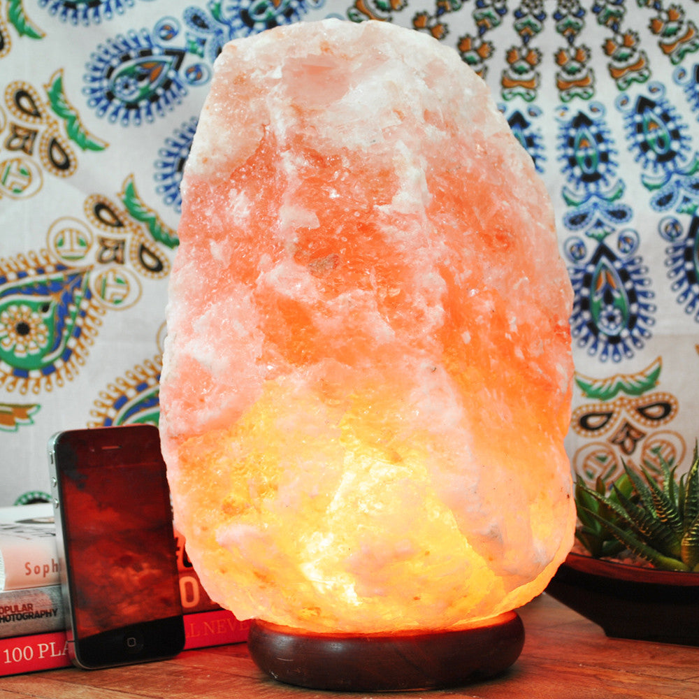 Himalayan Salt Lamp Size XXL. - Yellow Tree Company