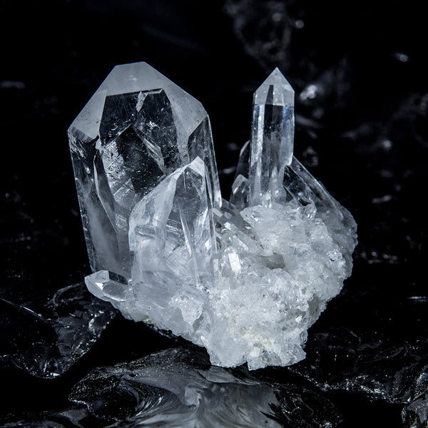 Clear Quartz Crystal Cluster - CCQ-7