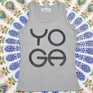 Grey Tank Top ~ Yoga