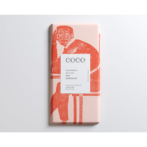 Coco Chocolatier Colombian Milk Chocolate 40% (12x80g)