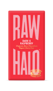 Raw Halo Dark & Raspberry ORG Raw Choc (10x35g)