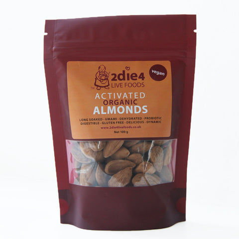 2die4 Activated Almonds (6x100g)