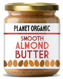 Planet Organic Smooth Almond Butter (6x170g)