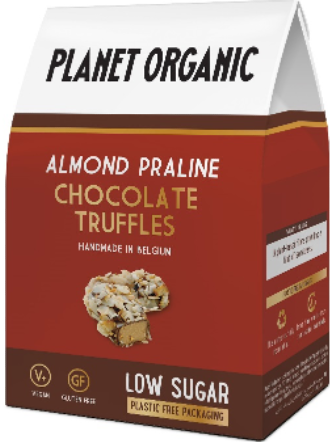 Copy of Planet Organic Low Sugar Almond Truffle (6x80g)