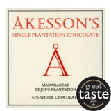 Akesson 43% Madagascan White Chocolate (12x60g)