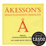 Akesson 55% Brazil Dark Milk Chocolate (12x60g)
