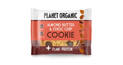 Planet Organic Protein Cookie Almond Butter & Choc Chip (12x50g)