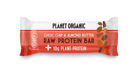 Planet Organic Raw Protein Bar Almond Butter & Choc Chip (14x50g)