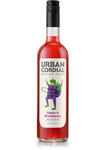 Urban Cordial - Apple & Blackberry Cordial (6x500ml)