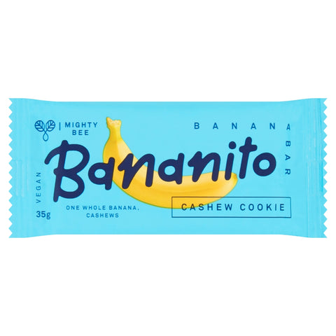 Mighty Bee's Bananito Cashew Cookie (24x35g)
