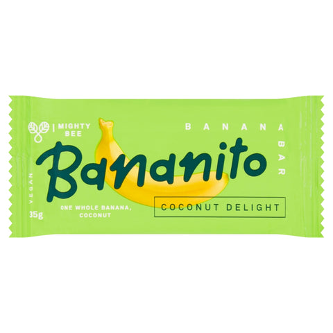 Mighty Bee's Bananito Coconut Delight (24x35g)