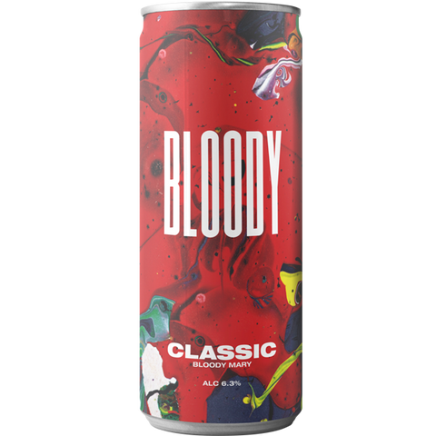 Bloody Drinks Classic Bloody Mary (12 x 250ml)