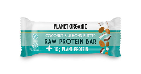 Planet Organic Raw Protein Bar Almond Butter & Coconut (14x50g)
