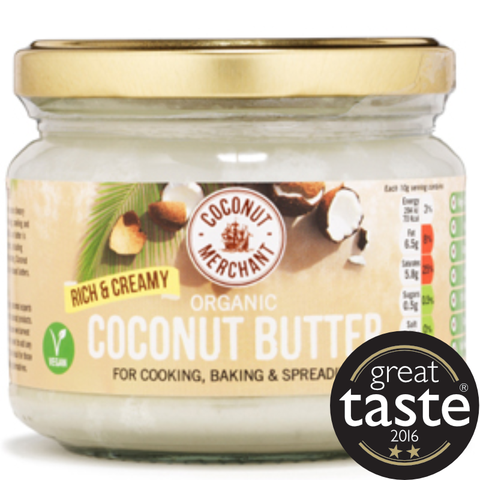 Coconut Merchant Coconut Butter - Rich and Creamy (12x330ml)