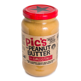 Pics Smooth Peanut Butter Salted (8x380g)