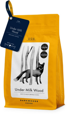 Dark Woods Under Milk Wood Coffee 8x250g (Ground)